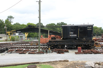 SOU Derrick #903008, Tennessee Valley Rail Road