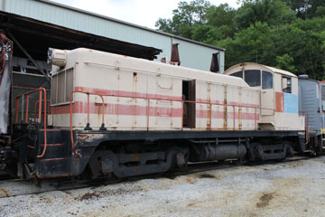 USN EMD NW2 #117, Tennessee Valley Rail Road