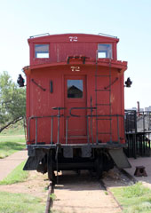 FWD Caboose #72, Lubbock