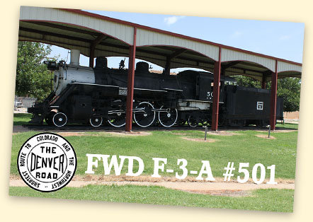FWD F-3-A #501, Childress, TX