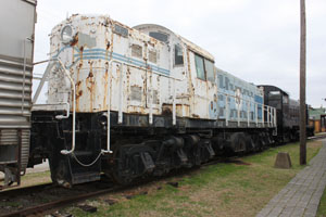 TXIX RSD-1 #8000, Museum of the American Railroad