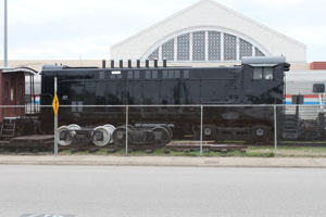 WRRC VO-1000 #1107, Museum of the American Railroad