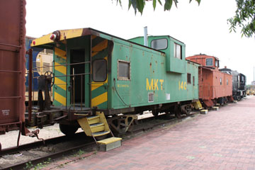 MKT Caboose #140, Temple