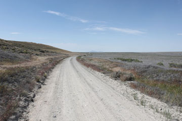 Historic Central Pacific Grade, Gravel Pit