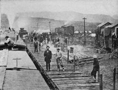 Central Pacific Railroad Construction Camp