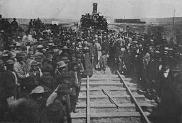 Promontory, Golden Spike Ceremony