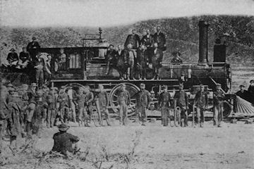 Promontory, Building the Pacific Railway