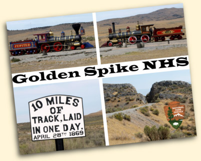 Golden Spike National Historic Site, Promontory, UT