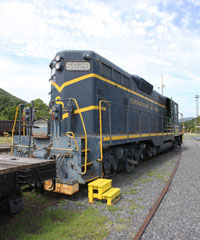 CO EMD GP7 #5828, Clifton Forge