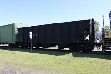 NW Open Hopper #41812, Crewe Railroad Museum