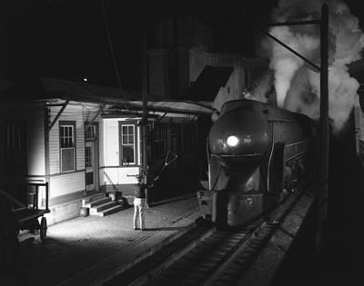 O. Winston Link, Train No.2 at Waynesboro, Virginia