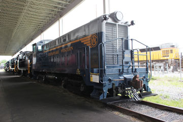 CHW Baldwin DS-44-660 #662, Virginia Museum of Transportation