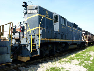 CO GP-7 #5828, Virginia Museum of Transportation