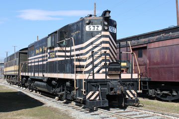 NKP GP-9 #532, Virginia Museum of Transportation