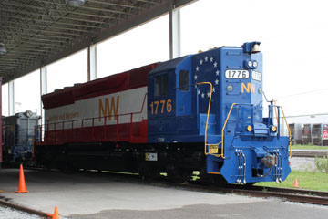 NW SD-45 #1776, Virginia Museum of Transportation