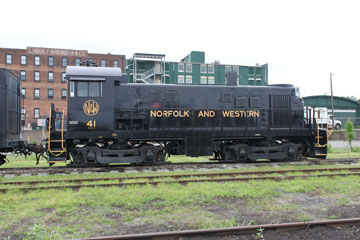 NW Alco T-6 #41, Virginia Museum of Transportation