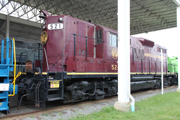 NW GP-9 #521, Virginia Museum of Transportation