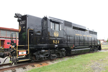 NW EMD GP30 #522, Virginia Museum of Transportation
