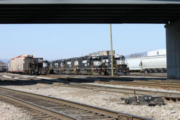 NS Roanoke Classification Yard