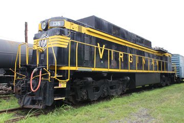 VGN GE EL-C #135, Virginia Museum of Transportation