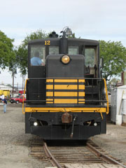 NP GE 65-Ton #12, Northern Pacific Railway Museum