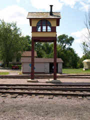 Crossing Tower, Mid-Continent Railway Museum