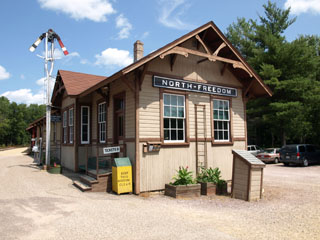 North Freedom Depot, Mid-Continent Railway Museum