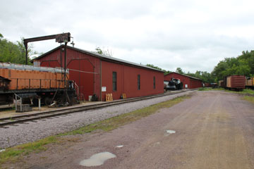 Engine House, Mid-Continent Railway Museum