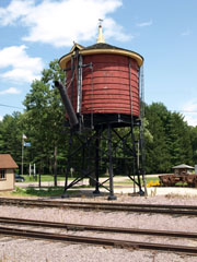 Water Tower, Mid-Continent Railway Museum