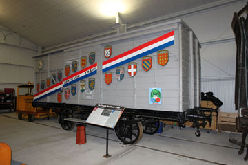 Wisconsin 40 et 8 Car, National Railroad Museum