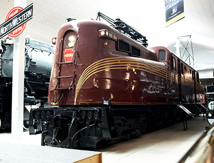 PRR GG1 #4890, National Railroad Museum