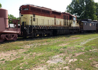 WC EMD SD24 #2402, National Railroad Museum
