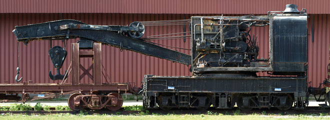 WC Wrecking Crane W-1, National Railroad Museum
