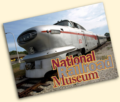 National Railroad Museum, Green Bay, WI