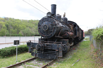 Norfolk & Western G1 #7, Bluefield City Park