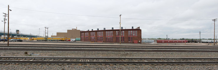 Union Pacific Roundhouse, Cheyenne