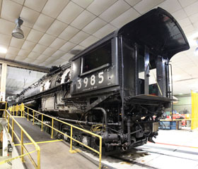 UP Challenger #3985, UP Cheyenne Roundhouse