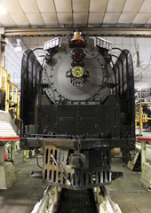 UP FEF-3 #844, UP Cheyenne Roundhouse