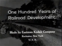 One Hundred Years of Railroad Development